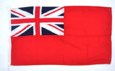 Red Ensign Flag sewn